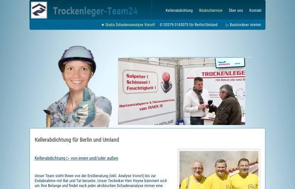 Vorschau von trockenleger-team24.de, Trockenleger-Team24