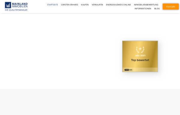 Vorschau von mainland-immobilien.de, MAINLAND IMMOBILIEN
