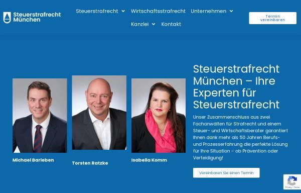Vorschau von www.steuerstrafrecht-münchen.de, Michael Barleben