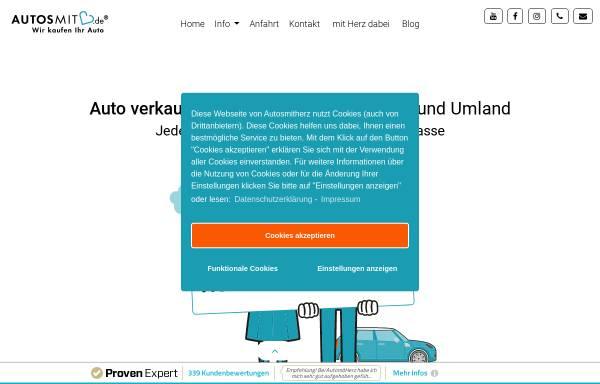 Vorschau von autosmitherz.de, Autosmitherz
