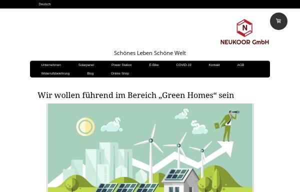 Vorschau von www.neukoor.de, NEUKOOR GmbH