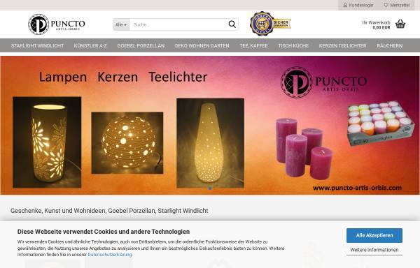 Vorschau von www.puncto-artis-orbis.com, puncto-artis-orbis