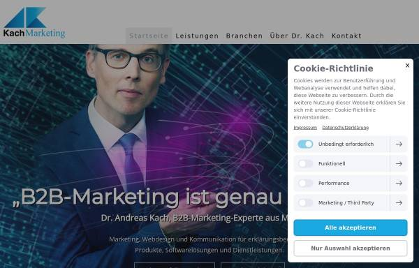 Vorschau von www.kachmarketing.com, Kach Marketing