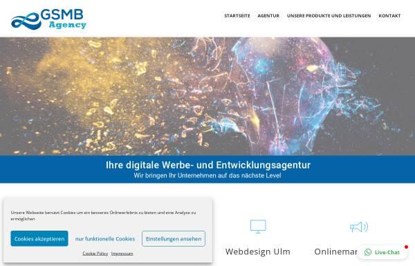 Vorschau von gsmb-agency.de, GSMB Agency GmbH