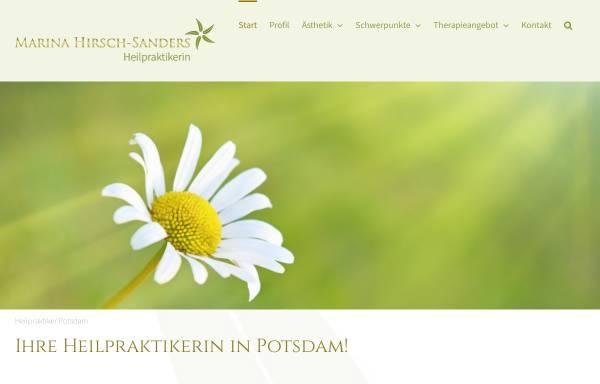 Vorschau von heilpraktiker-potsdam-hirsch.de, Heilpraktikerin Bioresonanz Akupunktur Raucherentwöhnung Marina Hirsch-Sanders