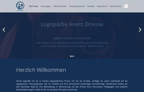 Vorschau von www.dreuseanett.de, Logopädie Anett Dreuse