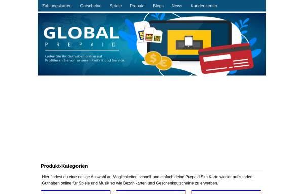 Vorschau von www.global-prepaid.com, Global Prepaid UG (haftungsbeschränkt)
