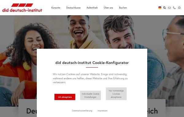 Vorschau von www.did.de, did deutsch-institut