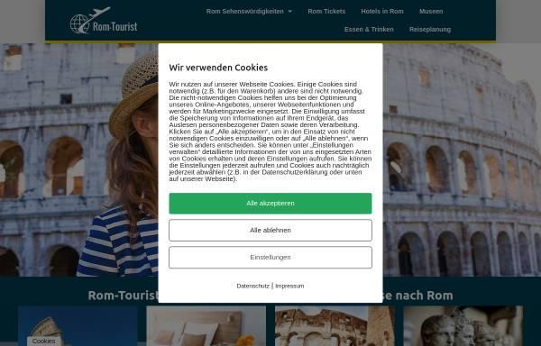 Vorschau von rom-tourist.de, Rom-Tourist.de