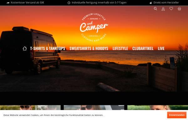 Vorschau von www.cool-camper.de, Cool Camper