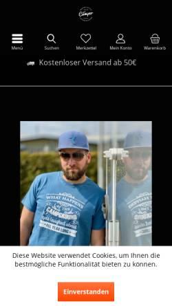 Vorschau der mobilen Webseite www.cool-camper.de, Cool Camper