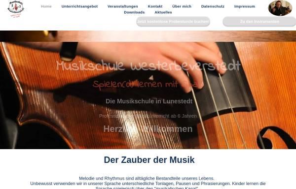 Vorschau von www.musikschule-westerbeverstedt.de, Musikschule Westerbeverstedt