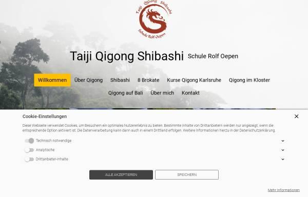 Vorschau von www.shibashi18.de, Schule Rolf Oepen