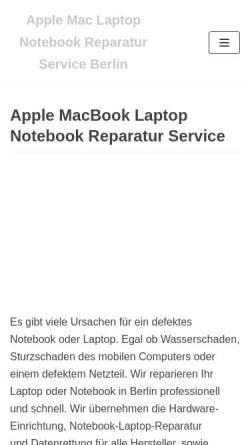 Vorschau der mobilen Webseite laptop-tiptop.de, Laptop tiptop