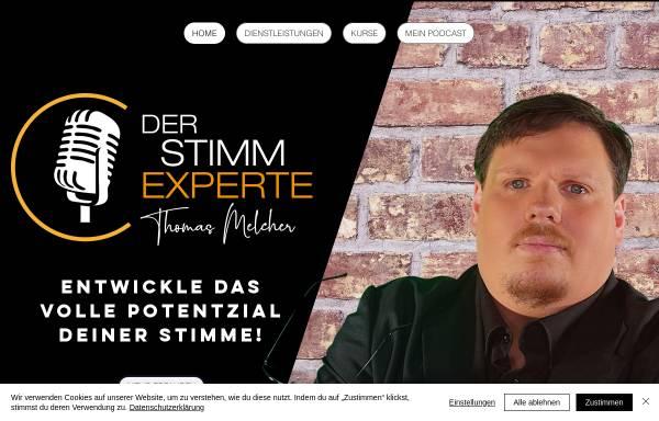 Vorschau von www.der-stimmexperte.de, Der Stimmexperte