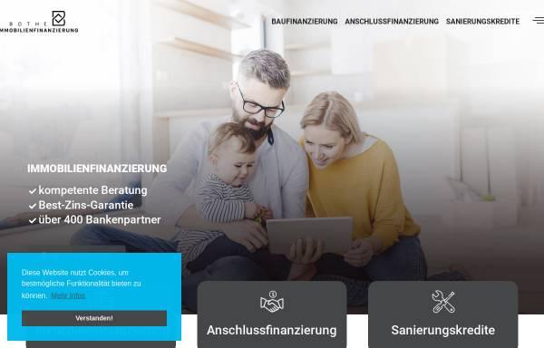 Vorschau von www.bothe-immobilienfinanzierung.de, BOTHE IMMOBILIENFINANZIERUNG