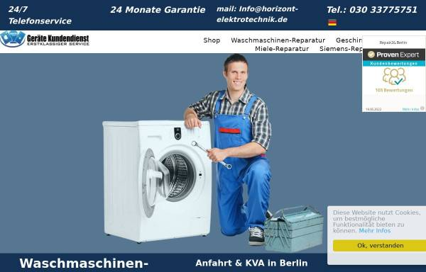 Vorschau von www.repair24.berlin, Repair24