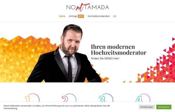 Vorschau von no-tamada.de, Hochzeitsmoderator Alexander Feldmann