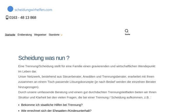Vorschau von scheidungwirhelfen.com, Wolfgang Pasch
