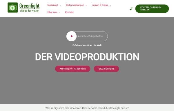 Vorschau von www.greenlightvision.ch, Greenlight Videoproduktionen