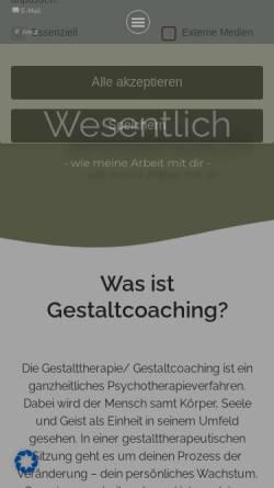 Vorschau der mobilen Webseite www.wesentlich-leipzig.de, wesentlich