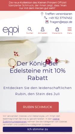 Vorschau der mobilen Webseite www.eppi.de, Eppi GmbH