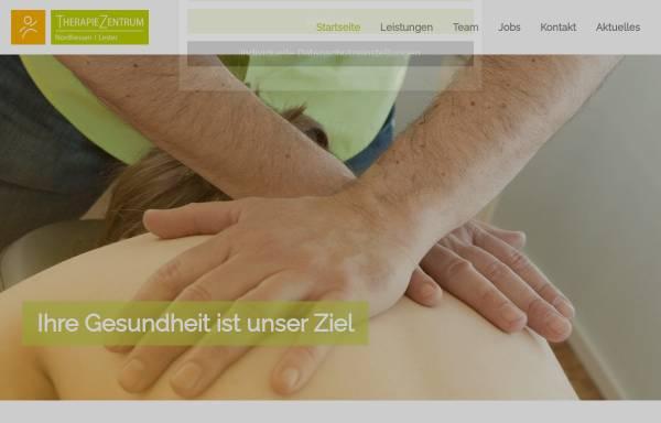 Vorschau von www.therapiezentrum-drk.de, Therapiezentrum in den DRK-Kliniken Nordhessen
