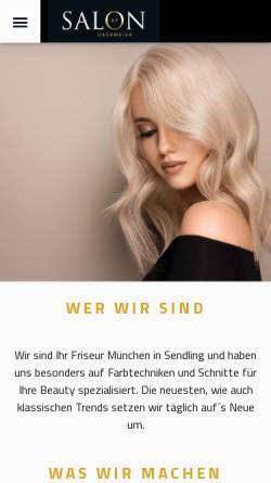 Vorschau der mobilen Webseite salonbyobermeier.de, Salon by Obermeier