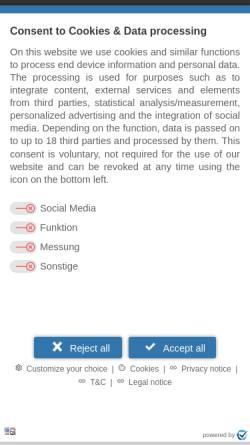 Vorschau der mobilen Webseite www.freiraum-psychologische-beratung.de, FreiRaum