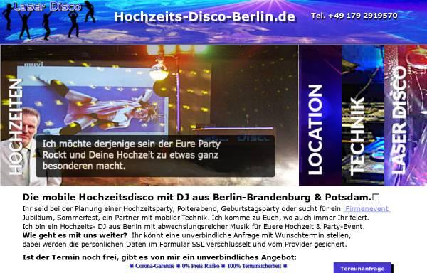 Vorschau von hochzeits-disco-berlin.de, Hochzeits- Disco DJ Andy Randy