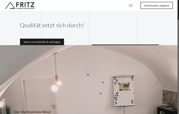 Vorschau von fritz-sanieren-renovieren.de, Fritz – Sanieren und Renovieren