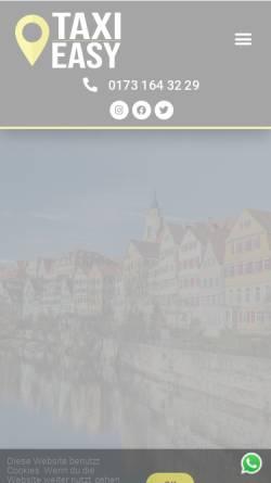 Vorschau der mobilen Webseite taxi-easy.de, Taxi Easy