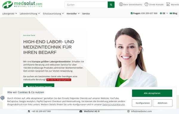 Vorschau von medsolut.com, MedSolut