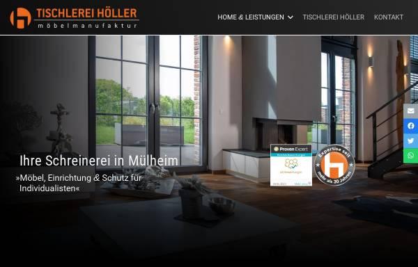 Vorschau von www.schreinerei-in-muelheim.de, Tischlerei HOELLER