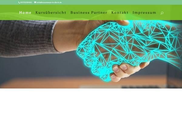 Vorschau von www.zusammen-in-die-it.de, Zusammen-in-die-IT