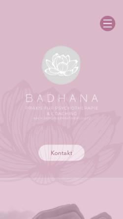 Vorschau der mobilen Webseite psychotherapie-leimkuehler.de, Heilpraktikerin Katrin Lisette Leimkühler