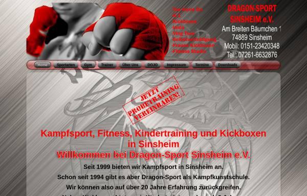 Vorschau von dragon-sport.eu, Dragon-Sport Sinsheim e.V.