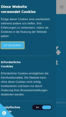 Vorschau der mobilen Webseite www.jfewo.de, JFeWo - Software für Ferienwohnungen und Portalentwicklung