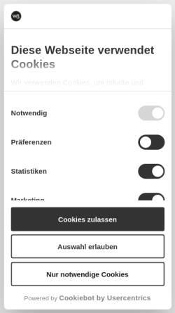 Vorschau der mobilen Webseite w3-development.de, W3 development GmbH