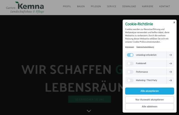 Vorschau von kemna-duisburg.de, Otto Kemna GmbH & Co KG.