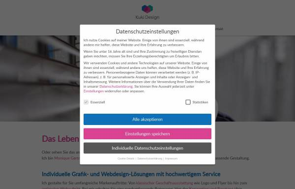 Vorschau von kuki-design.de, Kuki Design