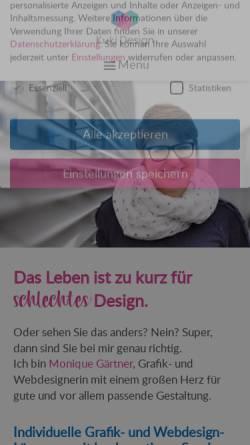 Vorschau der mobilen Webseite kuki-design.de, Kuki Design