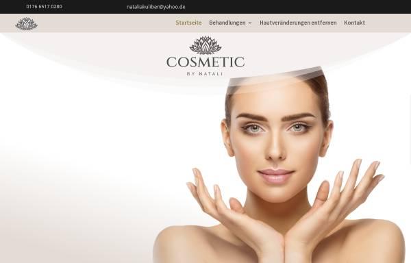 Vorschau von cosmeticbynatali.de, Cosmetic by Natali