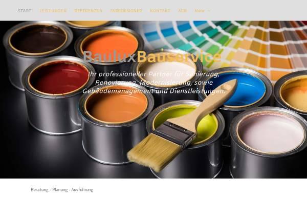 Vorschau von bauluxbauservice.de, Bauluxbauservice