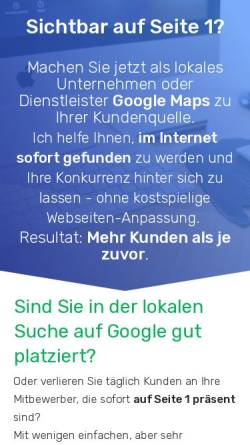 Vorschau der mobilen Webseite online-marketing.katrinlauber.de, Online Marketing Katrin Lauber