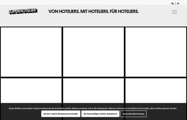 Vorschau von www.superhotelier.com, Superhotelier