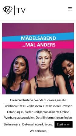 Vorschau der mobilen Webseite movement-fitness.tv, MOVEMENT FITNESS TV