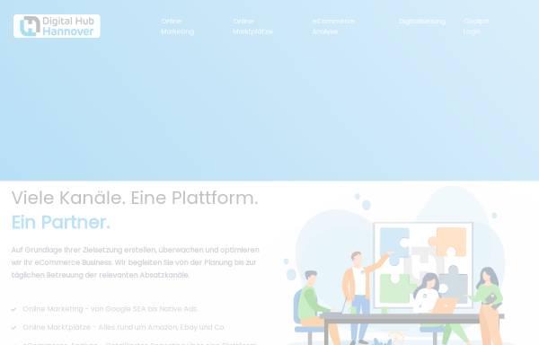 Vorschau von digitalhub-h.de, Digital Hub Hannover GmbH