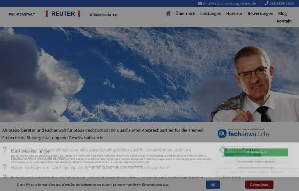 Vorschau von www.rechtsberatung-reuter.de, Gunter H. Reuter