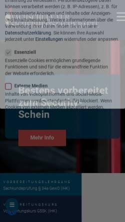 Vorschau der mobilen Webseite ffs-paratos.de, Paratos GmbH